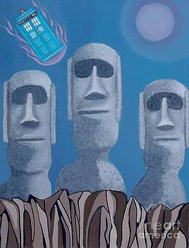 Easter Island Revisited by Anthony Morris