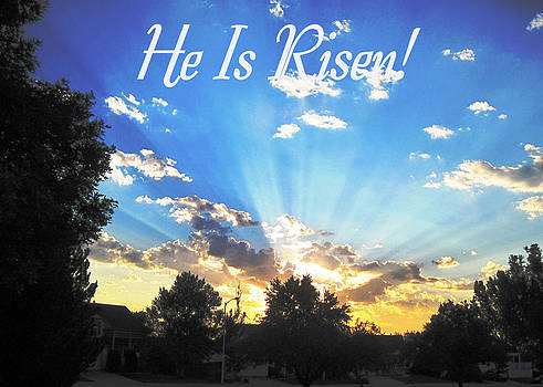 Ruth Soller - Easter Sunrise card