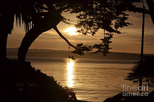 Easter Sunrise Over Lover's Point by Kathy Vilim