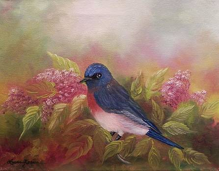 Eastern Bluebird by Laura Brown