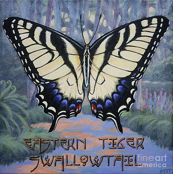 Eastern Tiger Swallowtail Butterfly by Teri Tompkins