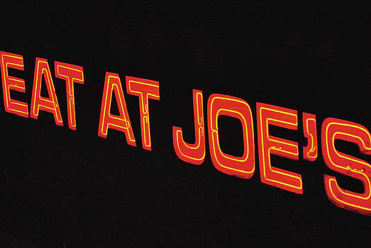 Eat at Joe's by Kelly E Schultz