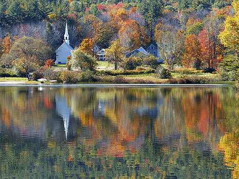 Eaton Village New Hampshire by Jim  Wallace