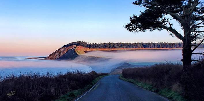 Ebey Landing Fog 1 by Rick Lawler
