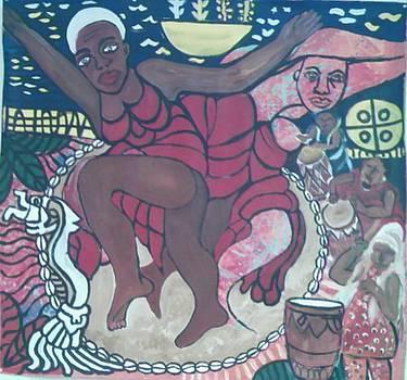 Ebongi ritual dance by Kalikata MBula