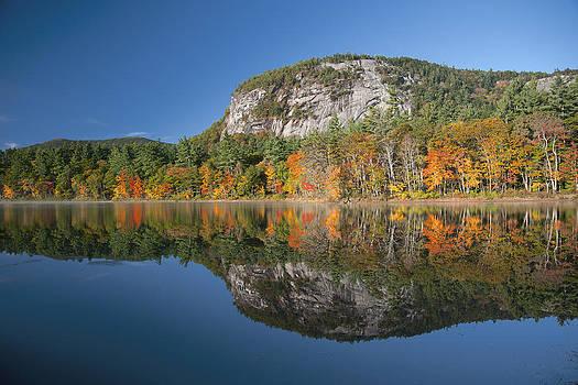 Echo Lake Reflection by Wayne Letsch