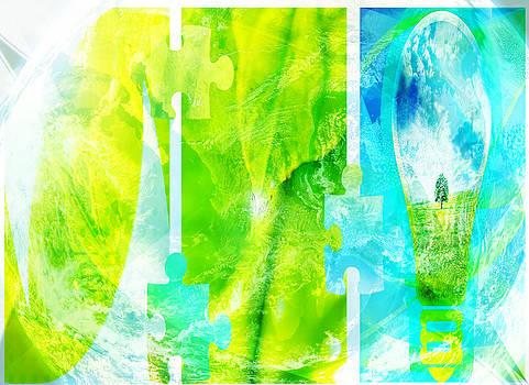 Ecology card design  by Svetoslav Sokolov