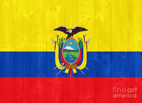Ecuador flag by Luis Alvarenga