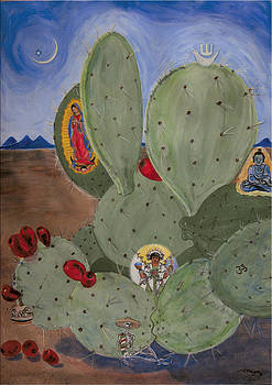 Ecumenical Cactus by Illusions Maya