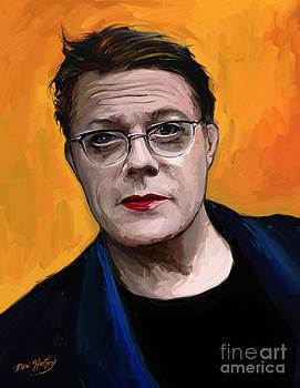 Eddie Izzard by Dori Hartley