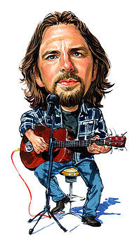 Eddie Vedder by Art