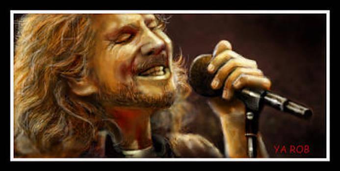 Eddie Vedder Live by YourArtist Rob