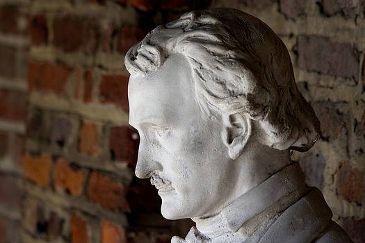Edgar Allan Poe Bust by Don Dresden