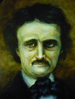 Edgar Allan Poe by June Ponte