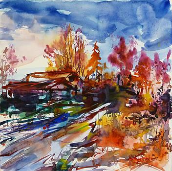 Edge of the village by Mikko Tyllinen