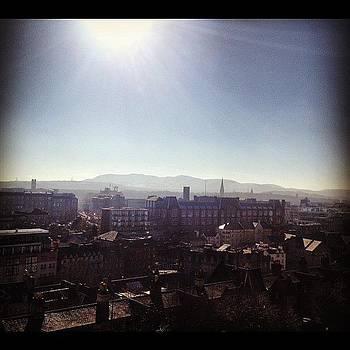 Edinburgh. #view #blueskies by Ashley Millette