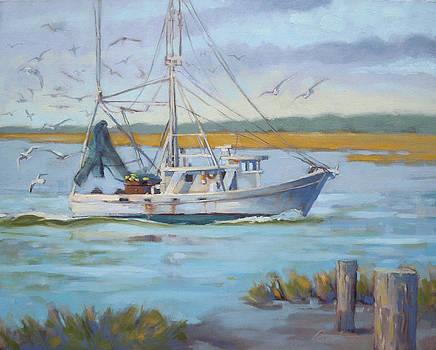 Edisto Shrimp Boat by Todd Baxter