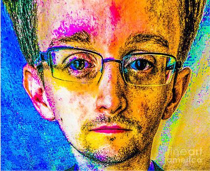 Algirdas Lukas - Edward Snowden