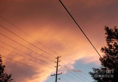 Gail Matthews - Eerie Storm Clouds