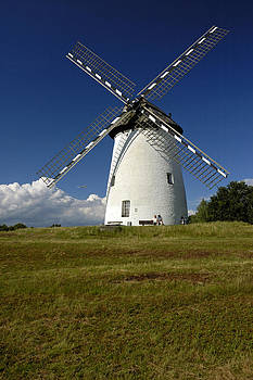 Egelsberg Windmill Krefeld Germany by David Davies