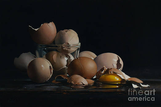 Larry Preston - EGG AND SHELLS no.5