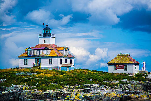 Egg Island Lighthouse Maine by Jason Brow