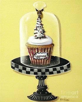 Eggnog Cupcake by Catherine Holman