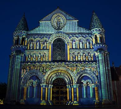 Eglise Notre Dame La Grande Poitiers France by Austin Brown