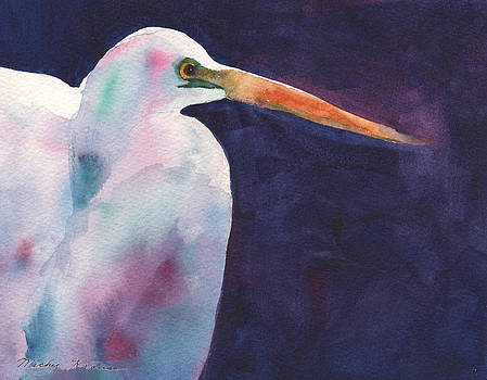 Egret by Mickey Krause
