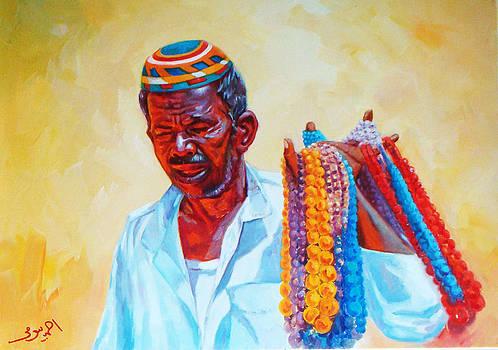 Egyptian Nubian Vendor by Ahmed Bayomi