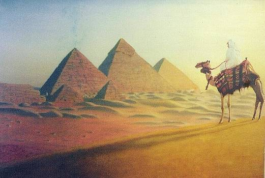 Egyptian Pyramids by Wagner Chaves