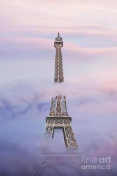 Eifell Tower by Fog by Martin Dzurjanik