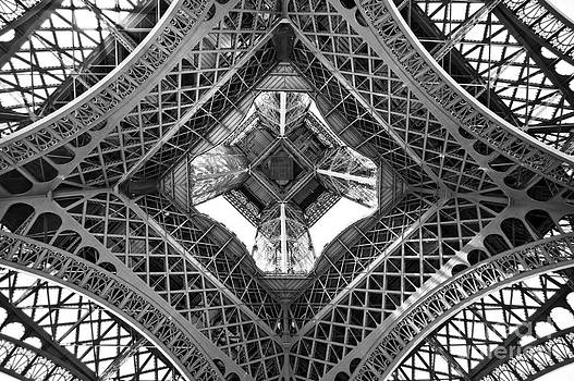 Delphimages Photo Creations - Eiffel abstract