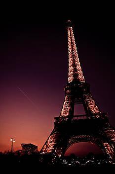 Eiffel at Night by Calvin Hanson