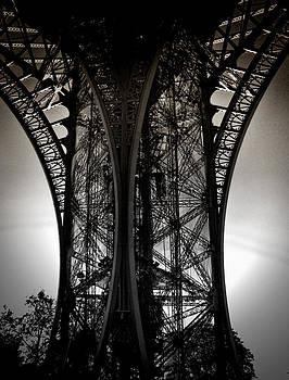 Eiffel Detail by Karen Lindale