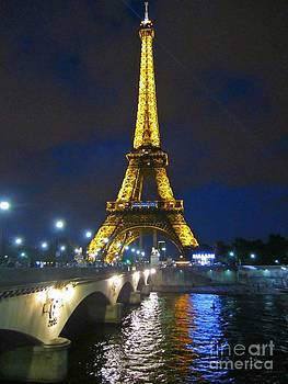 Crystal Loppie - Eiffel Tower at Night