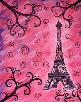 Vicki Maheu - Eiffel Tower in Pink