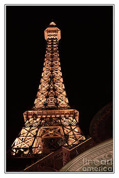 Eiffel Tower Light Up My Dreams by Teri Brown