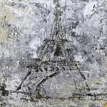 Eiffel Tower ll by Pamela Canzano