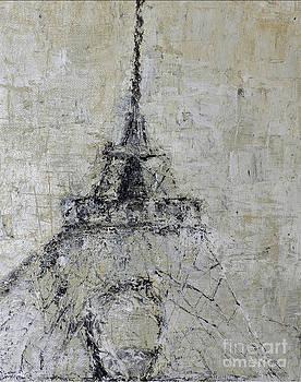 Eiffel Tower lll by Pamela Canzano