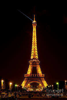 Eiffel Tower Night by Olivier Le Queinec