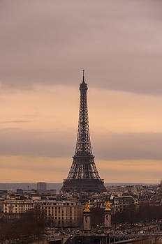 Eiffel Tower - Paris by Anastasia E