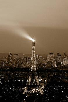 Eiffel Tower Paris by Cedric Darrigrand