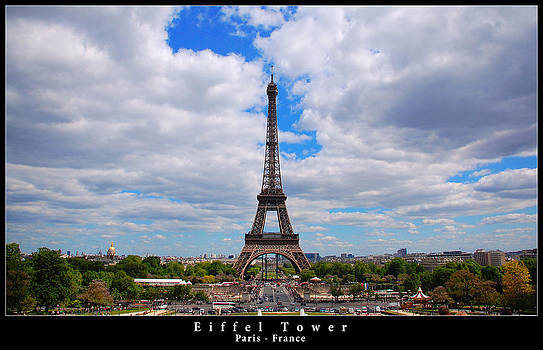Eiffel Tower - Paris by Dany Lison