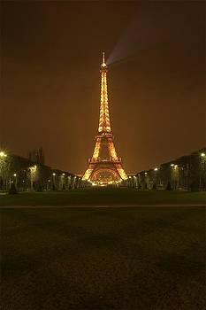 Eiffel Tower Paris France by Nicholas Gregory