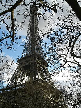 Eiffel Tower Paris France by Ty Cook