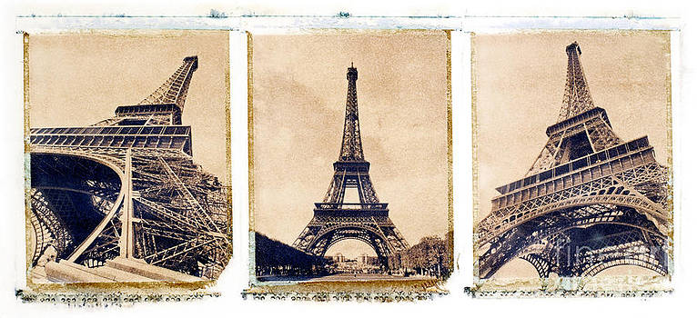 Eiffel Tower by Tony Cordoza