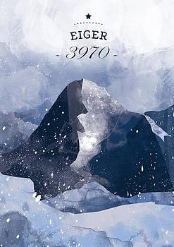 Eiger by Randoms Print