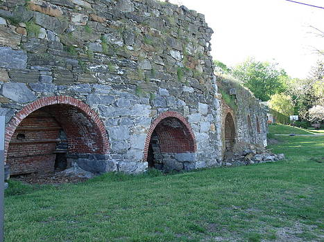 Eight Lime Kilns in a row by Terrilee Walton-Smith