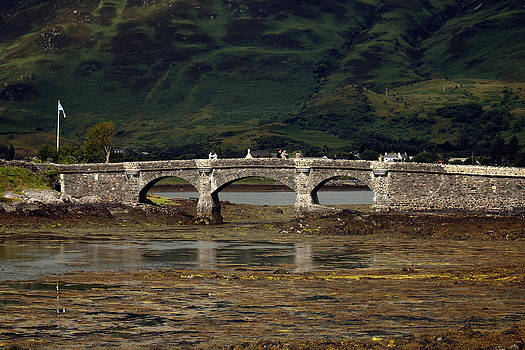 Eilean Donan Bridge by Anthony Bean